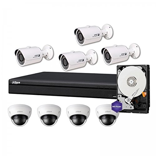 KIT Videosorveglianza 8 Canali Professionale PoE- 2MPX