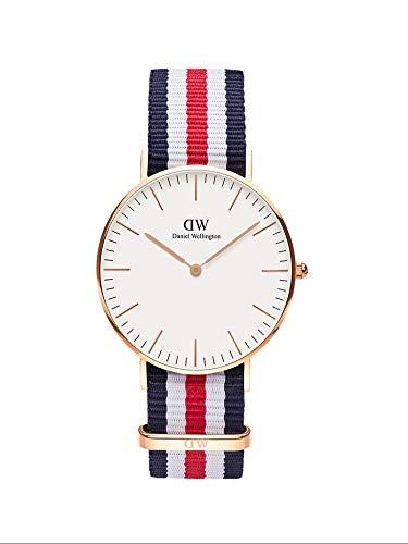 Daniel Wellington Damen Analog Japanese Quartz Uhr mit Natoband Armband DW00100030
