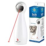PetSafe Bolt - Automatic, Interactive Laser Cat Toy - Adjustable Laser with Random Patterns - 2 Play Modes
