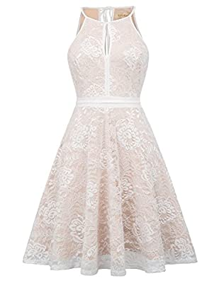 ❀【Features】Front and back Keyhole with soft lining inside; A contrasting lining allows the details of this Floral Guipure Lace to make a strong statement. A deceptively lightweight style featuring signature artisan details ❀【Style】Win their hearts ev...