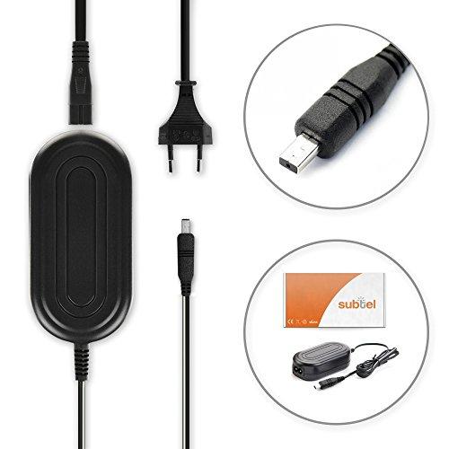 subtel Caricabatteria Compatibile con Samsung VP-MX20 -MX10 SMX-F30 -F34 VP-D371 -D361 -D351 -D20...