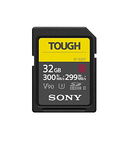 ソニー 32GB UHS-II Tough G-Series SDカード (R300/W299)