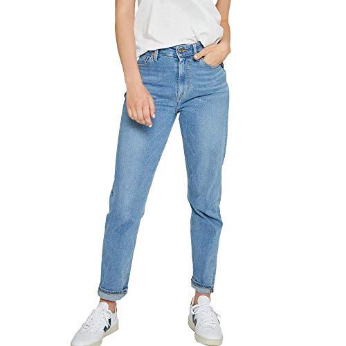 Kuyichi Damen Jeans Nora Slim Bio-Baumwolle, Faded Blue, Gr. W29/L30