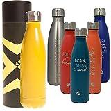 Bottiglia per acqua Sternitz in acciaio inossidabile senza BPA - 24 Ore Freddo & 12