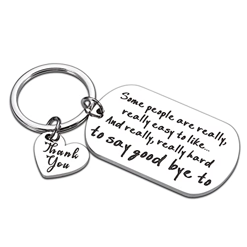 Coworker Boss Appreciation Gifts Keychain Leaving Going Away...