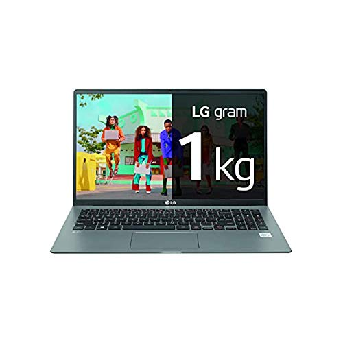 "LG - Portátil gram 16Z90P Windows 10 Home, Ultraligero de 40.6 cm (16"") WQXGA 16:10 IPS (1.2 Kg, autonomía 16.5h. Intel EvoTM i5 11ª Gen., Iris Xe, 16GB RAM, 512GB SSD NVMe), Teclado Español, Negro"