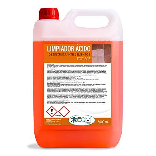 Quitacementos 5 L   Limpiador Suelos, Desincrustante ácido