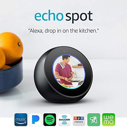 Product Image 12: Echo Spot - Smart Alarm Clock with Alexa - Black