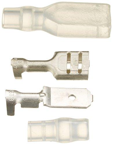 キジマ(Kijima) ギボシ端子セット 250平型オス・メス端子 スリーブ付 汎用 5個セット 304-7120