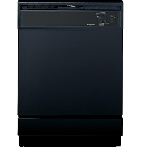 Hotpoint HDA2100HBB 24' Black Full Console Dishwasher
