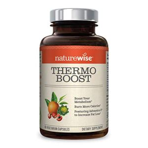 NatureWise Thermo Blend Metabolism Booster | Natural Thermogenic Fat Burner Appetite Suppressant & Weight Loss Pills for Men & Women | Green Tea Extract & Bitter Orange, Vegan, & Gluten Free [1 Month] 5 - My Weight Loss Today