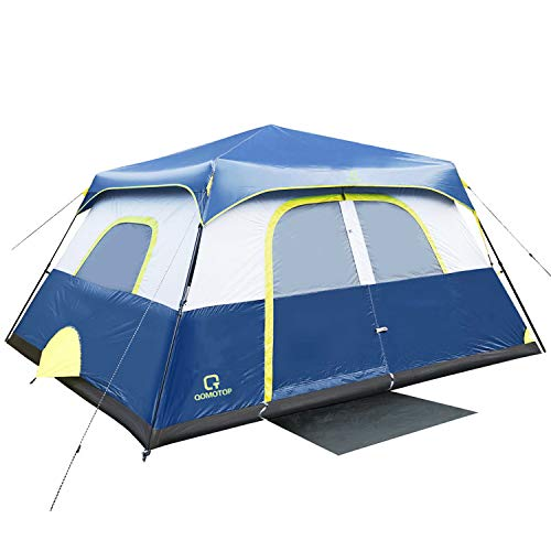 QOMOTOP Camping Tent, 8 Person Instant Set Up Within 1 Minute...