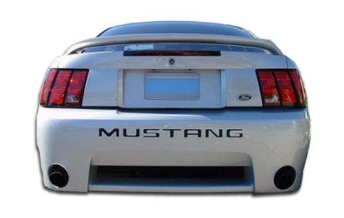 Brightt Duraflex ED-HKZ-895 KR-S Rear Bumper Cover - 1 Piece Body Kit - Compatible With Mustang 1999-2004