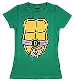 Teenage Mutant Ninja Turtles TMNT Donatello Costume Juniors T-Shirt (Medium) by Mad Engine