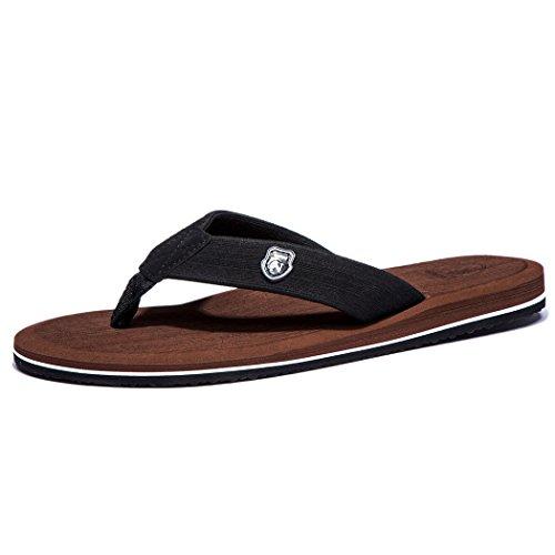 NeedBo Men's Flip Flops Thong Sandals Comfortable...