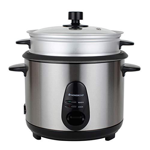 Wonderchef Prato Electric Rice Cooker & Steamer 1L - 400W