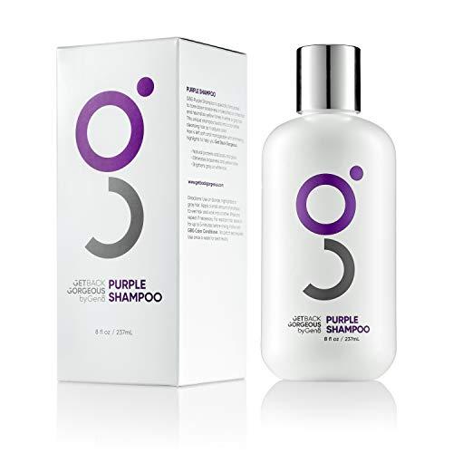 Purple Shampoo for Blonde Hair by GBG  Blonde Shampoo Instantly Eliminate Brassiness & Yellows - Brighten Blonde, Silver & Grey w/Celebrity Stylist Created Purple Toning Shampoo  8oz