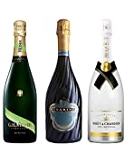 Lot de 3 Champagnes Demi-sec 75 cL