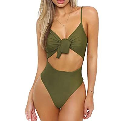 ✿【Material 】:Polyester,Made from stretch swim fabric, soft and comfortable. ✿【Features】:Breathable and skin-friendly bikini swimwear set will give you a wonderful experience throughout the whole summer ; Casual,Beach, Whether the steel drag:There che...