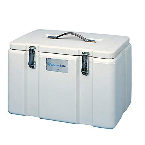 ThermoSafe 390 Dry Ice Storage Insulated Field Carrier, polyethylene, 1 cu ft