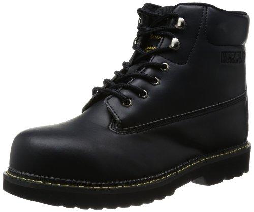 [ミドリ安全] 作業靴 先芯入り 中編上靴 MPW20 メンズ ブラック 26.0(26cm)