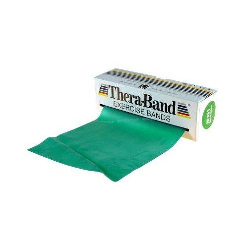 Thera-Band Fascia per esercizi, Verde, 1,5 m