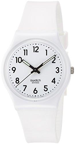 Swatch Damenuhr Digital Quarz mit Silikonarmband – GW151O