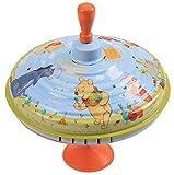 Lena 52213 Brummkreisel Winnie The Pooh Ø 19 cm, Metall Schwungkreisel aus Blech, klassischer Pumpkreisel, Blechkreisel mit Disney 's Puuh, Kreisel mit Fuß, Spielzeugkreisel für Kinder ab 18 Monate