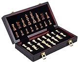 Engelhart - Magnifique Coffret de Jeux d'échecs de en Bois 30 cm...