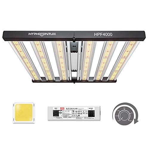 HYPHOTONFLUX HPF4000 LED Grow Lights 5x5ft with Samsung LM301B & MeanWell Driver,Full Spectrum...
