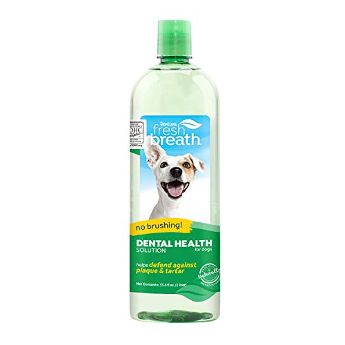TropiClean Oral Care Water Additive for Pets, 33.8...