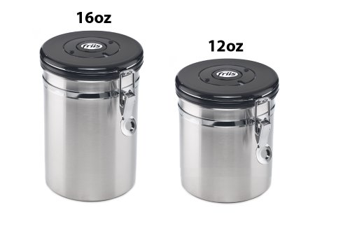 Product Image 2: Friis 16oz Stainless Steel Coffee Vault Canister, 16-Ounce