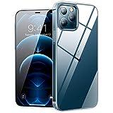 TORRAS 超透明 iPhone 12 用ケース iPhone 12 Pro 用ケース 超薄型 超軽量 耐衝撃 10倍黄変防……