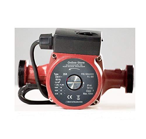 Circulateur 25/6-180 pour chauffage central pompe de recirculation