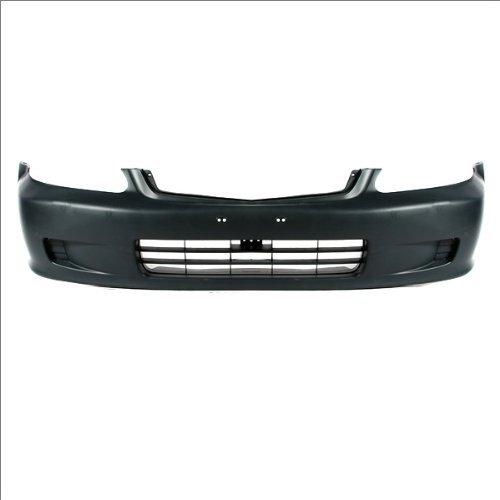 CarPartsDepot, Front Bumper Cover Primed Black Plastic Unpainted Assembly, 352-20132-10-PM HO1000184 04711S01A01ZZ