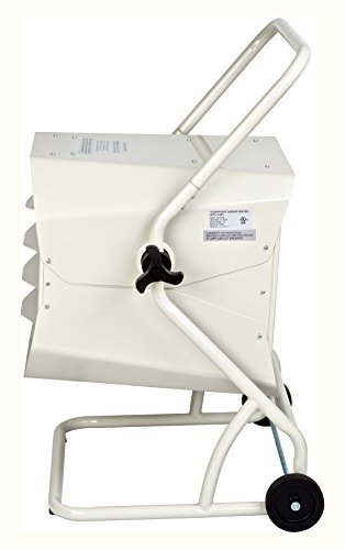 Product Image 1: Dr Heater Dr. Infrared DR-910M 10000-Watt 240-Volt Heavy-Duty Hardwired Shop Garage Heater with Cart and Adjustable Thermostat