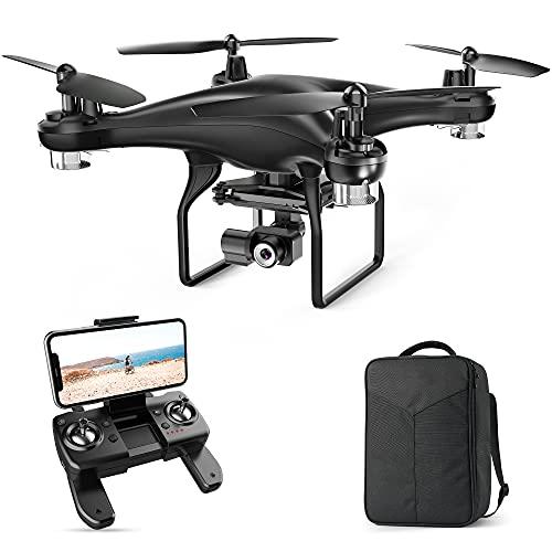 SP600N 2K Drone con Telecamera, 2 Assi Gimbal con GPS, modalit Seguimi, Ritorno Automatico, Segna e Traccia, modalit Punti di Interesse, Waypoint, Telecamera Regolabile(con Borsa)