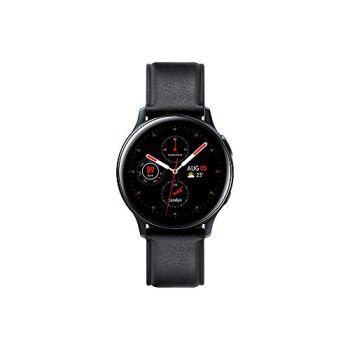 Samsung - Montre Galaxy Watch Active 2 4G - Acier 40 mm - Noir Carbone - Version Française