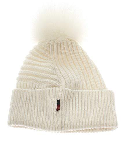 Woolrich Cappello W's Soft Wool Beanie Bianco S