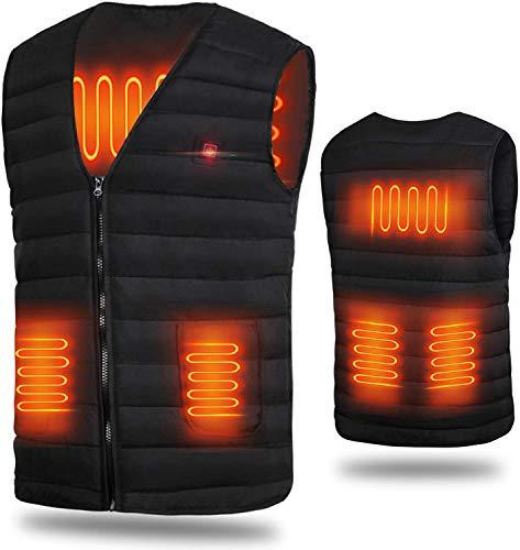電熱ベスト 発熱ベスト ヒーター付きベスト ヒーター内蔵 電熱ジャケット ホットベスト 加熱ベスト USB加熱...