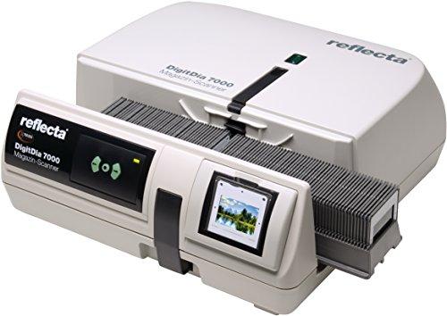 DIASCANNER MIETEN 1 Woche, Reflecta DigitDia 7000, Professionell Diascannen, HDR-Scan, Scanzeit ca. 2 Min/Dia, max. 10000 DPI, inkl. Erklärungsvideo