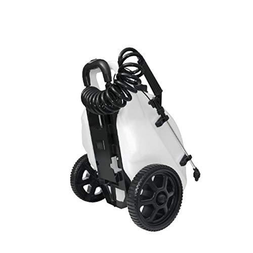 Workhorse LG05SS Rechargeable Spot Sprayer - White Portable Sprayer with Wheels, Vertical & Horizontal Stream Range, 5 Gallon Tank. Garden Sprayer