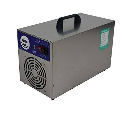 Generatore di Ozono Display LCD Regolamento Sull'ozono Interruttore Orario, Purificatore d'Aria Ozono con Timer di 3 Ore, 30000Mg / Ora Sterilizzatore A Ozono Disinfezione (30G)