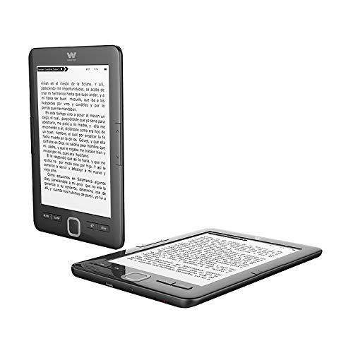 Woxter E-Book Scriba 195 Black Lector de libros electrónicos...