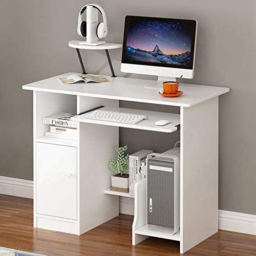 CSBYBD Home Office Computer Small Desk PC Laptop Desk for Bedrooms...