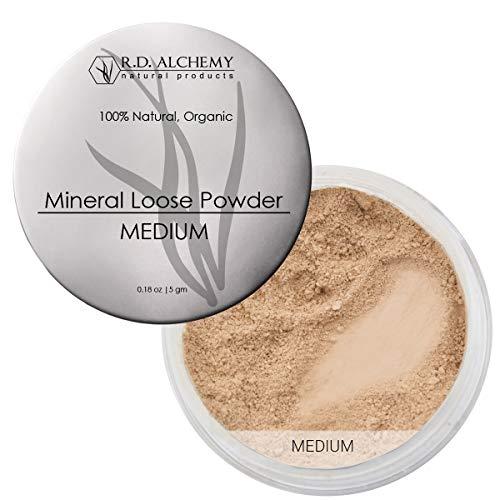 100% Natural & Organic Mineral Loose Powder Medium...