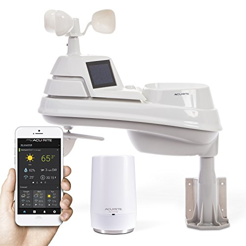 AcuRite 01014M Weather Station with AcuRite Access for Remote Monitoring, Compatible with Amazon Alexa
