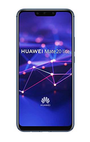 "Huawei Mate 20 Lite - Smartphone Dual SIM de 6.3"" Full HD (Kirin 710, 4 GB de RAM, 64 GB de memoria interna, cámara dual de 24 + 2 MP) azul"