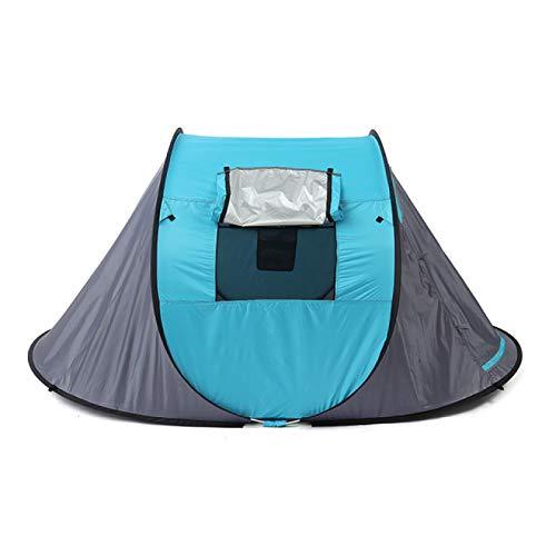 YFFSBBGSDK Tente de Camping 2 Personnes Tente de Lancer Tente extérieure Une Couche étanche Camping Alpinisme Tente 3 Saisons en Plein air Grande Tente familiale