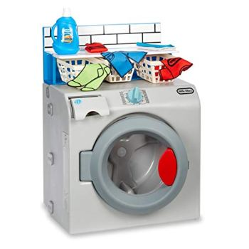 Little Tikes First Washer-Dryer - Interactive & Realistic with Sounds - Pretend Play Appliance for Kids